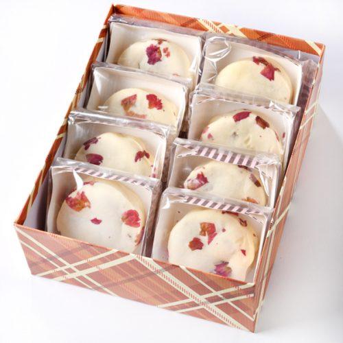 盒裝玫瑰露雪餅